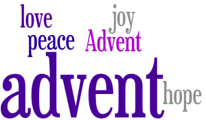 advent words