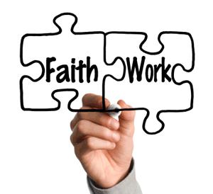 Puzzle pieces - Faith + Works