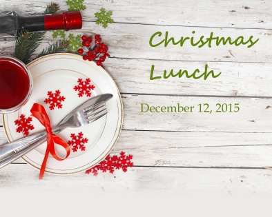 christmas lunch 2015